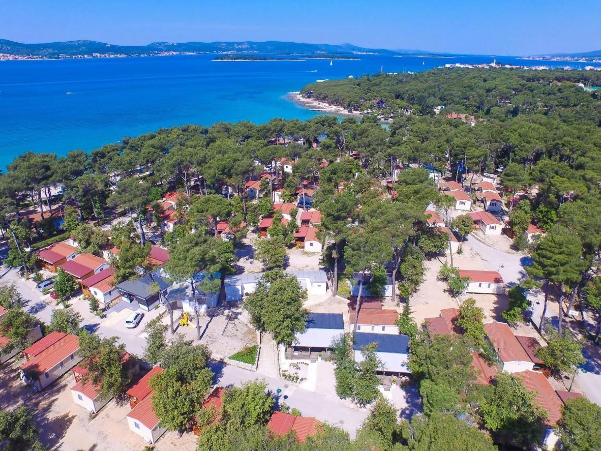 Campsite Sunny Home Soline in Zadar County