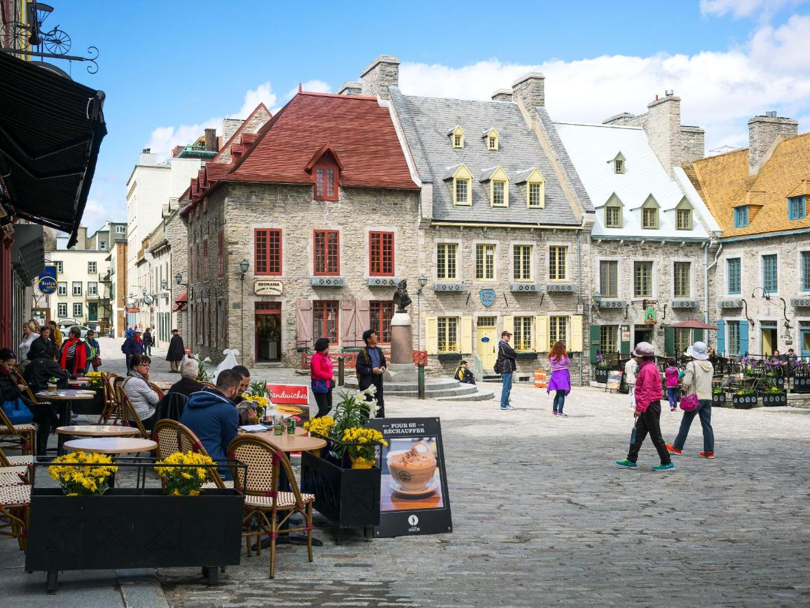 Royal Square in Quebec City