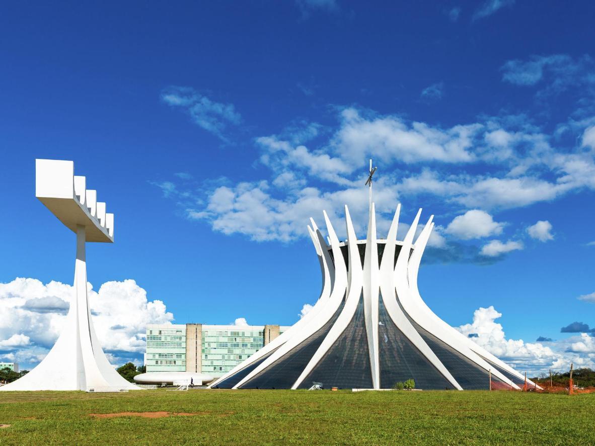 Cathedral of Brasilia in Brasília
