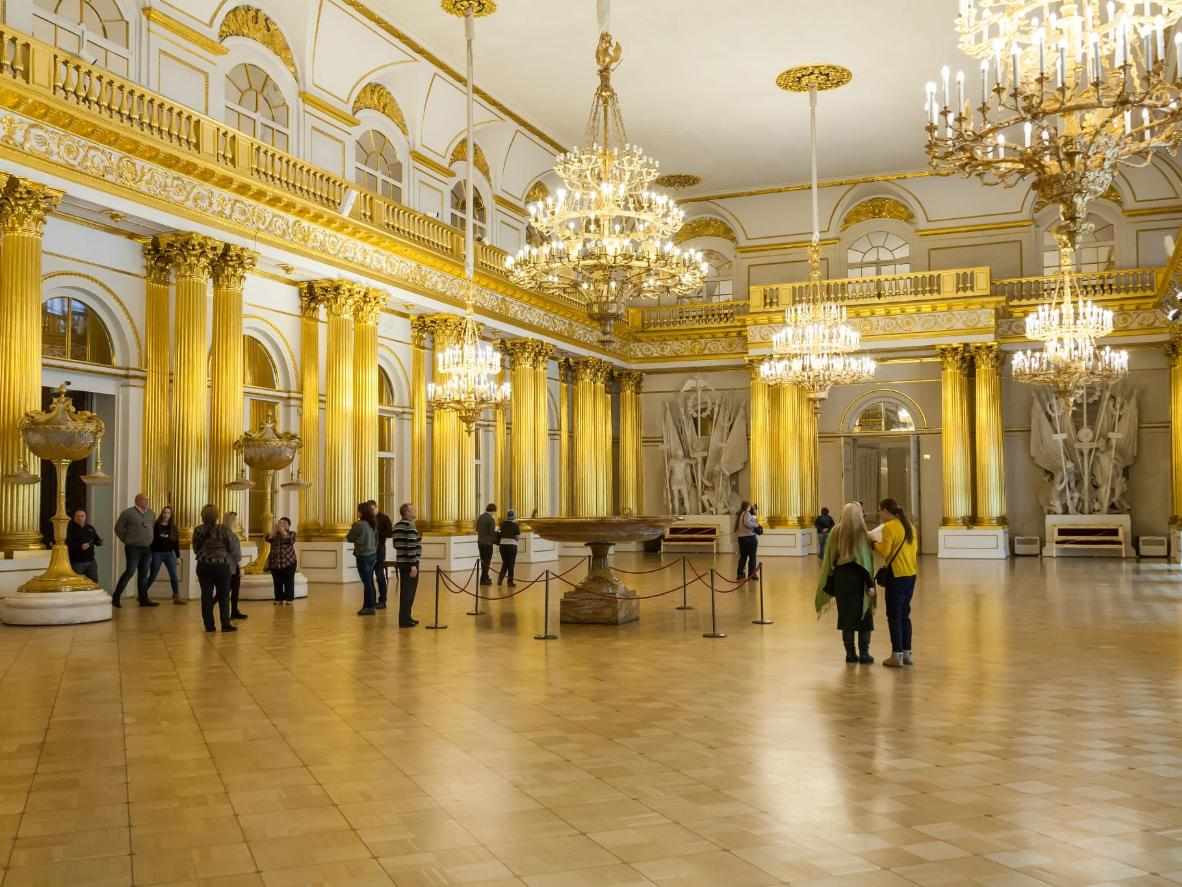 The Hermitage Museum in Saint Petersburg