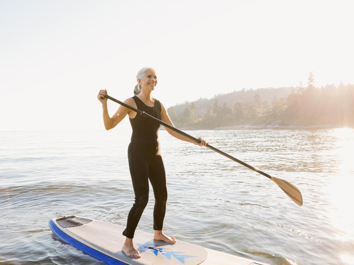 Try paddle boarding at Parlee Beach Provincial Park