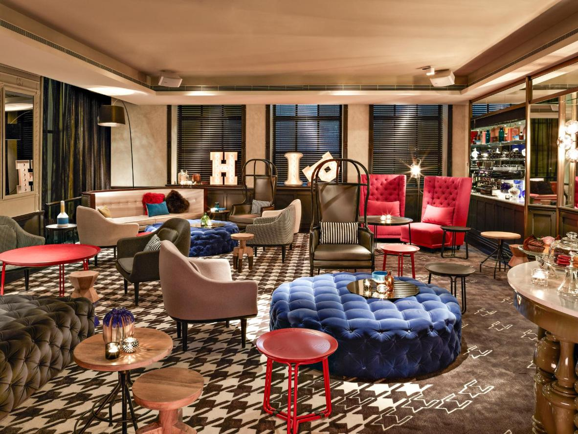 QT Sydney combines moody atmospherics with playful design touches