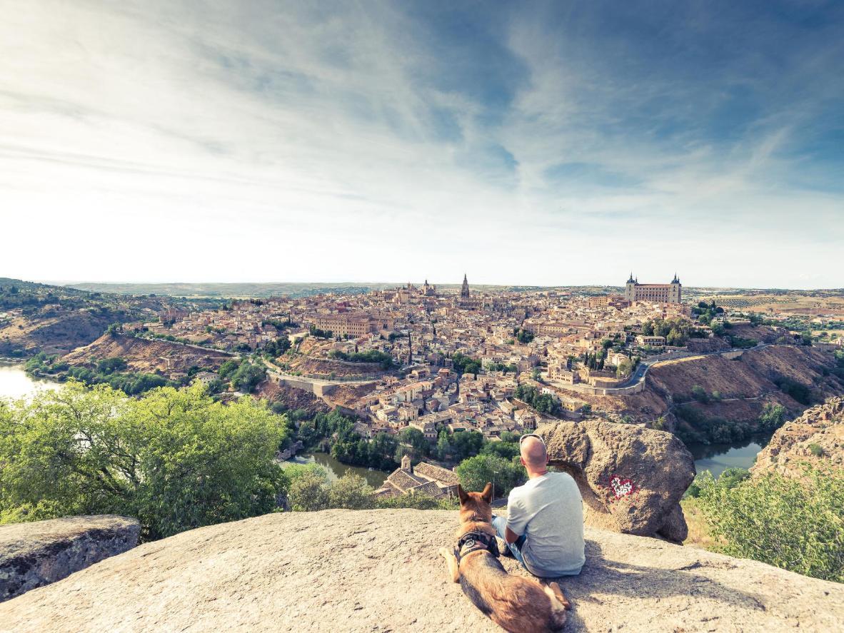Las vistas de Toledo son bastante encantadoras.