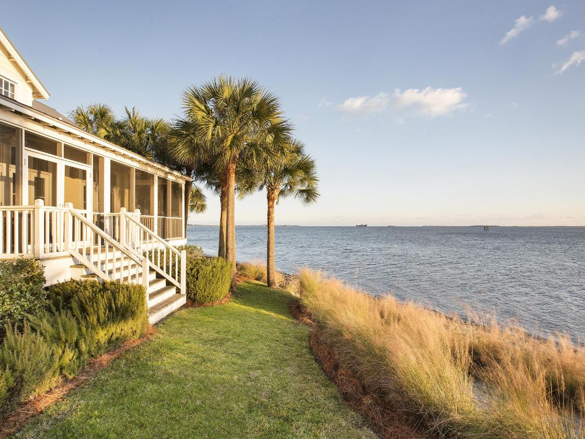 Go dolphin spotting at The Cottages on Charleston Harbour