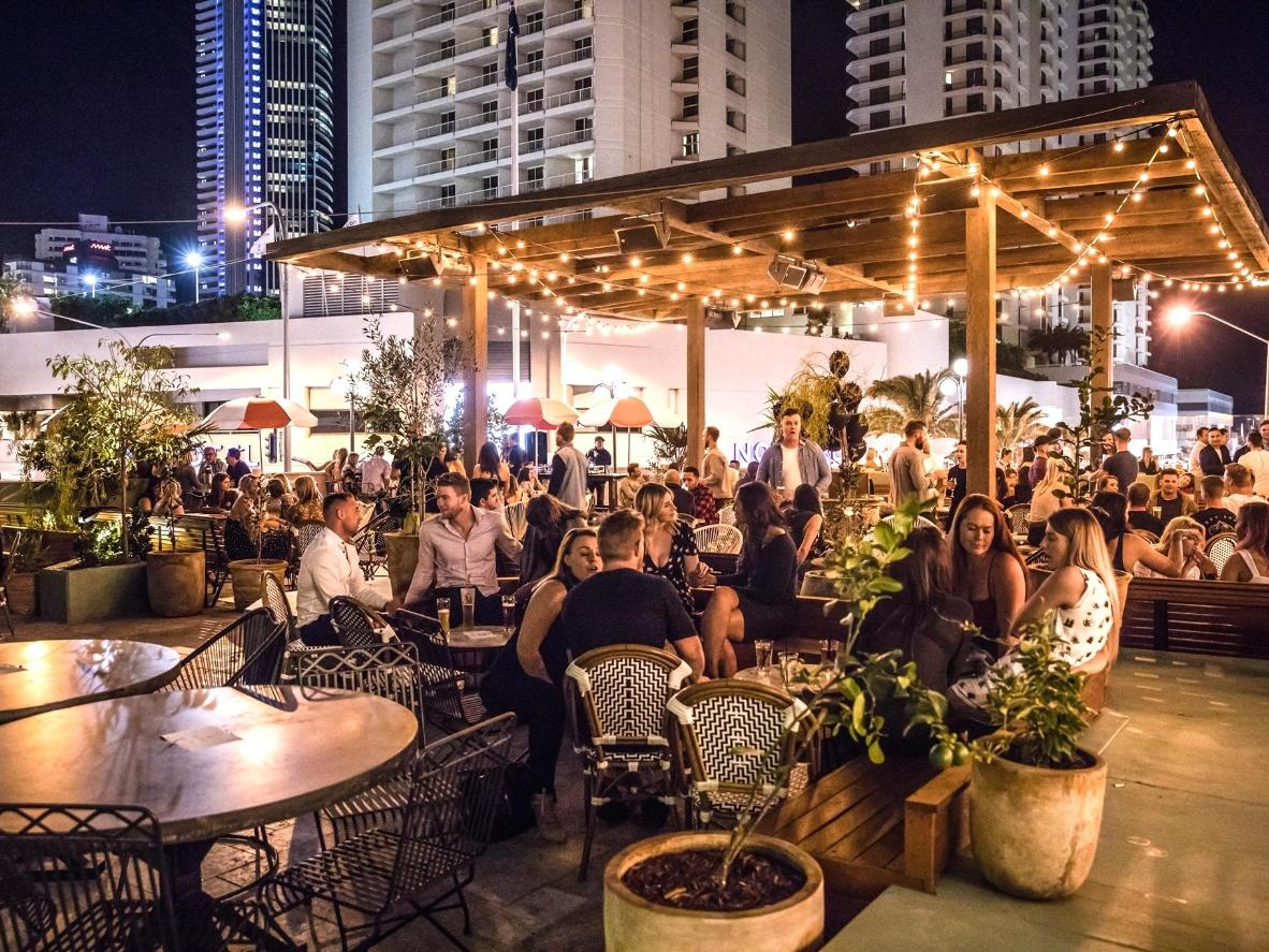 Luxuriate in the laid-back atmosphere at The Island Rooftop