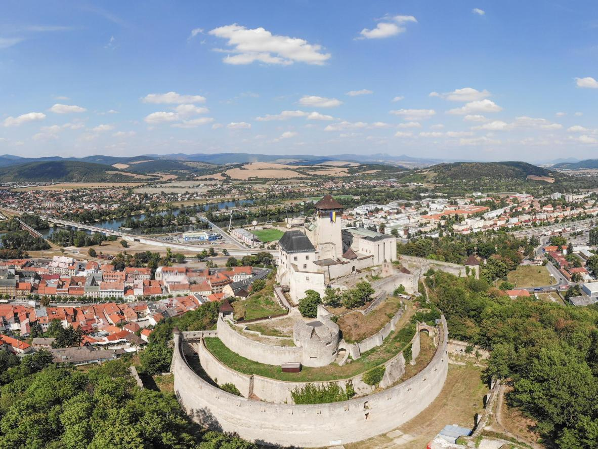 Trenčín Castle is the site of stories of romance, war and torture