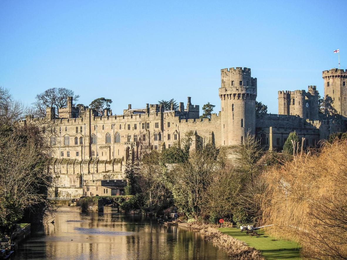 Built by William the Conqueror in 1068, Warwick Castle is one of the UK's most historic fortresses