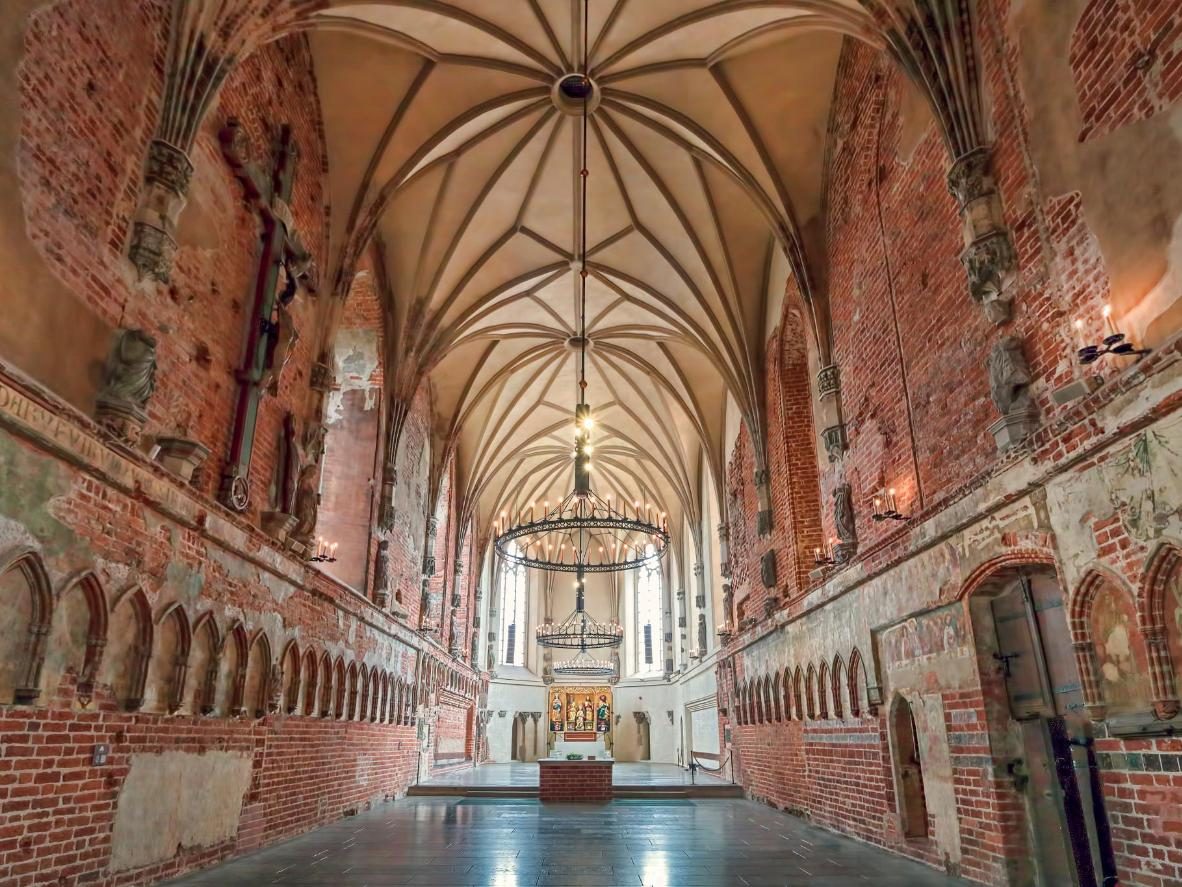 Malbork is the largest castle in the world by land area
