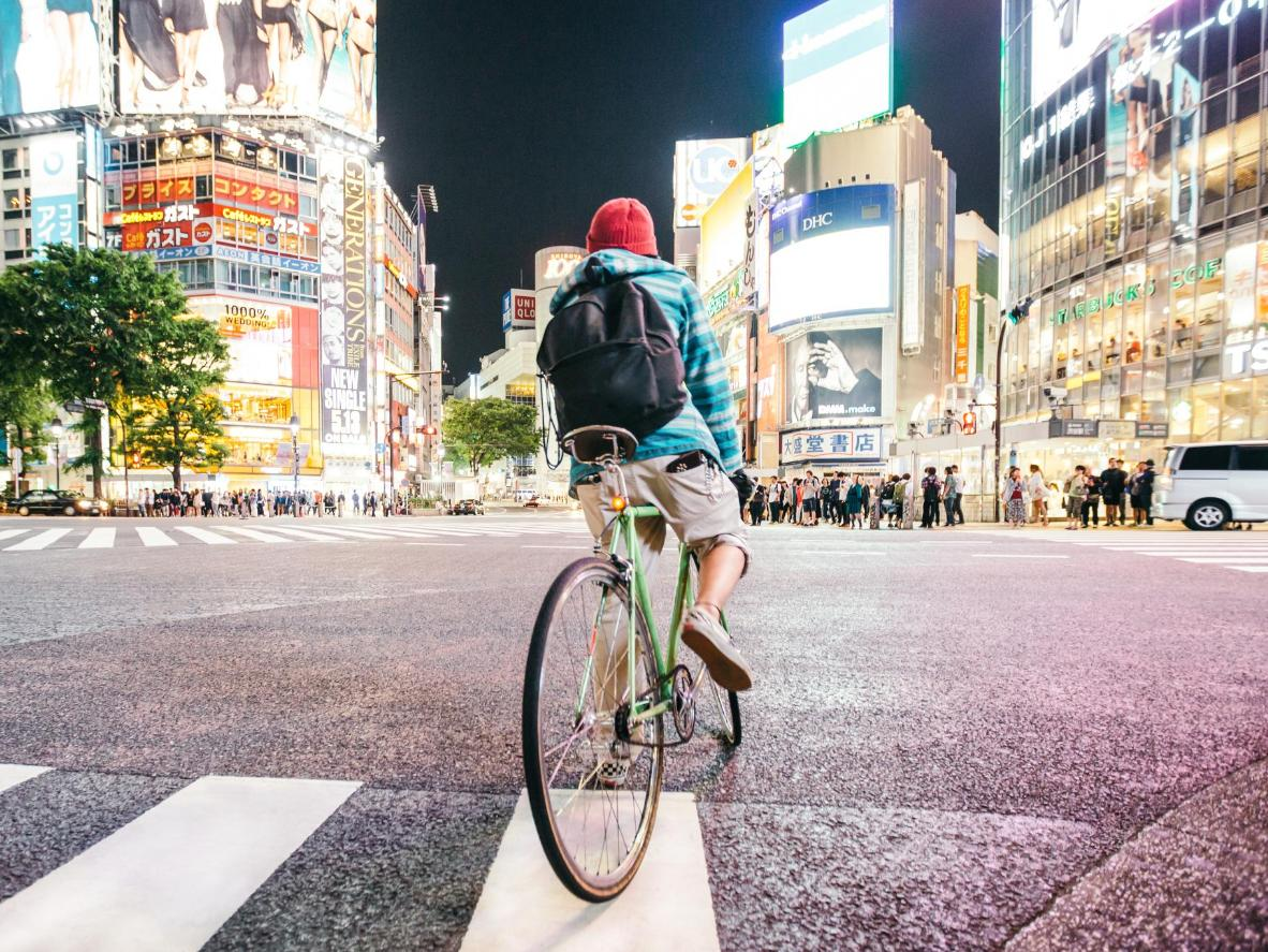 Even busy junctions like Shibuya crossing are kept immaculate in Tokyo