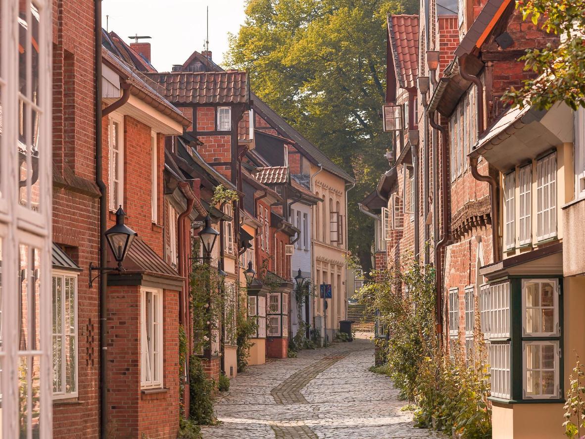 Lüneburg ist eine wilde Mischung charmanter Backsteinhäuser