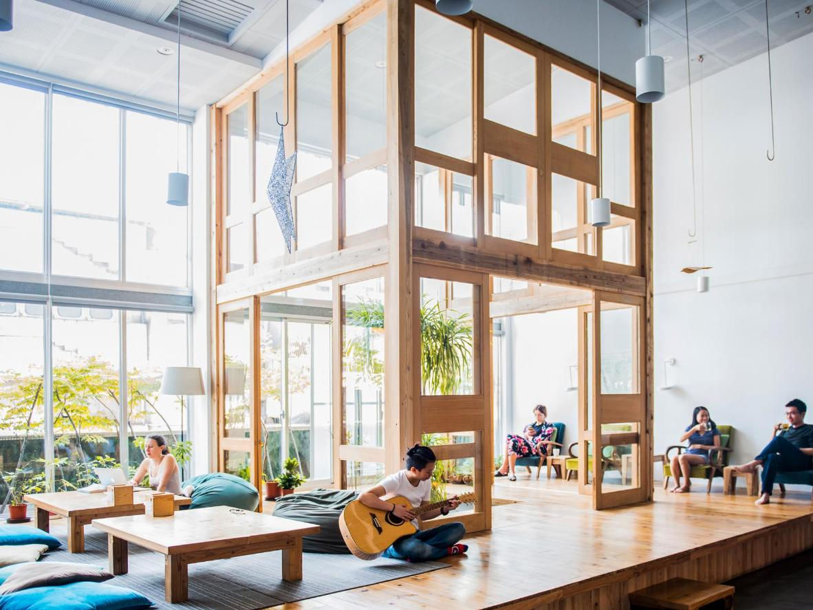 Star Hostel Taipei Main Station, a stylish spot to recharge your batteries