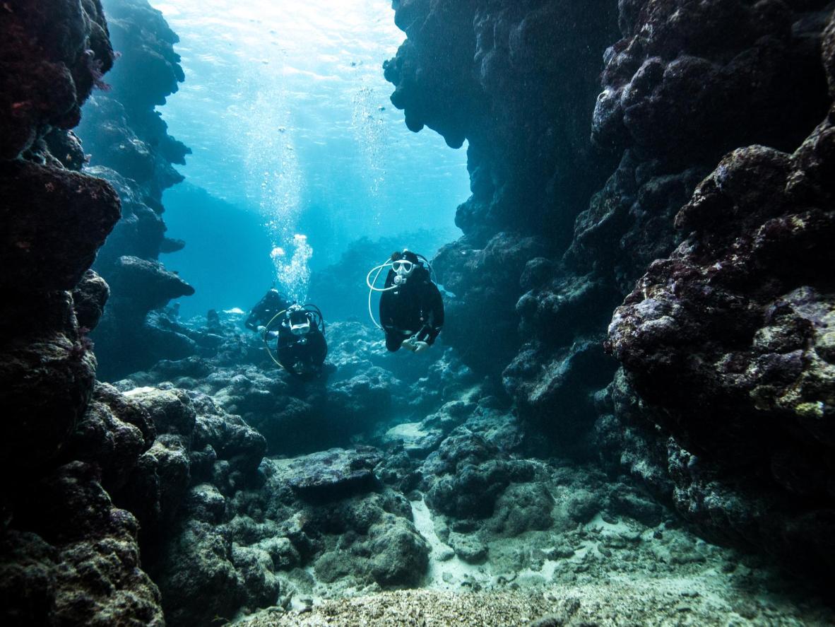 Un'immersione nella Grotta Giusti in Toscana