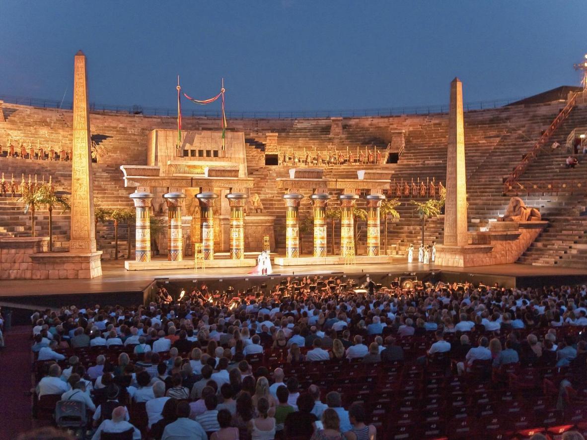 Assistez à un spectacle dans les Arènes de Vérone