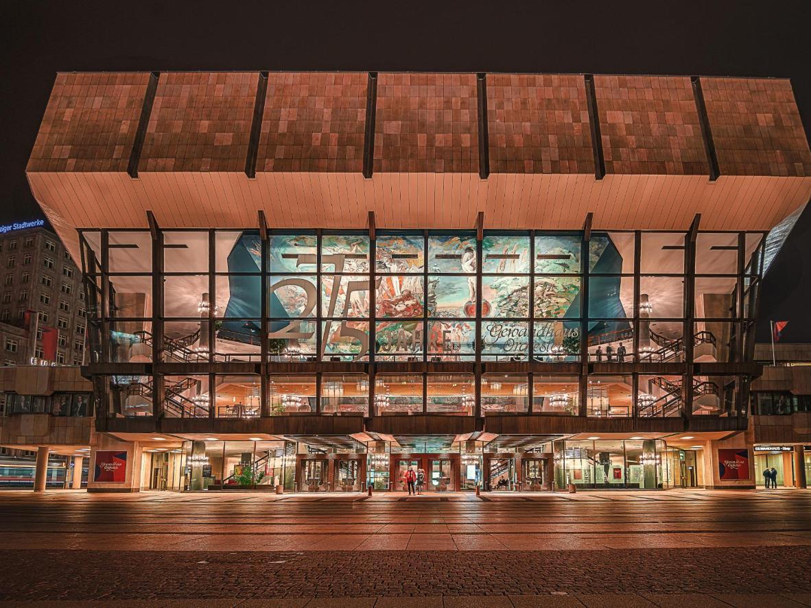 Le plus vieil orchestre allemand joue à la salle de concerts Gewandhaus