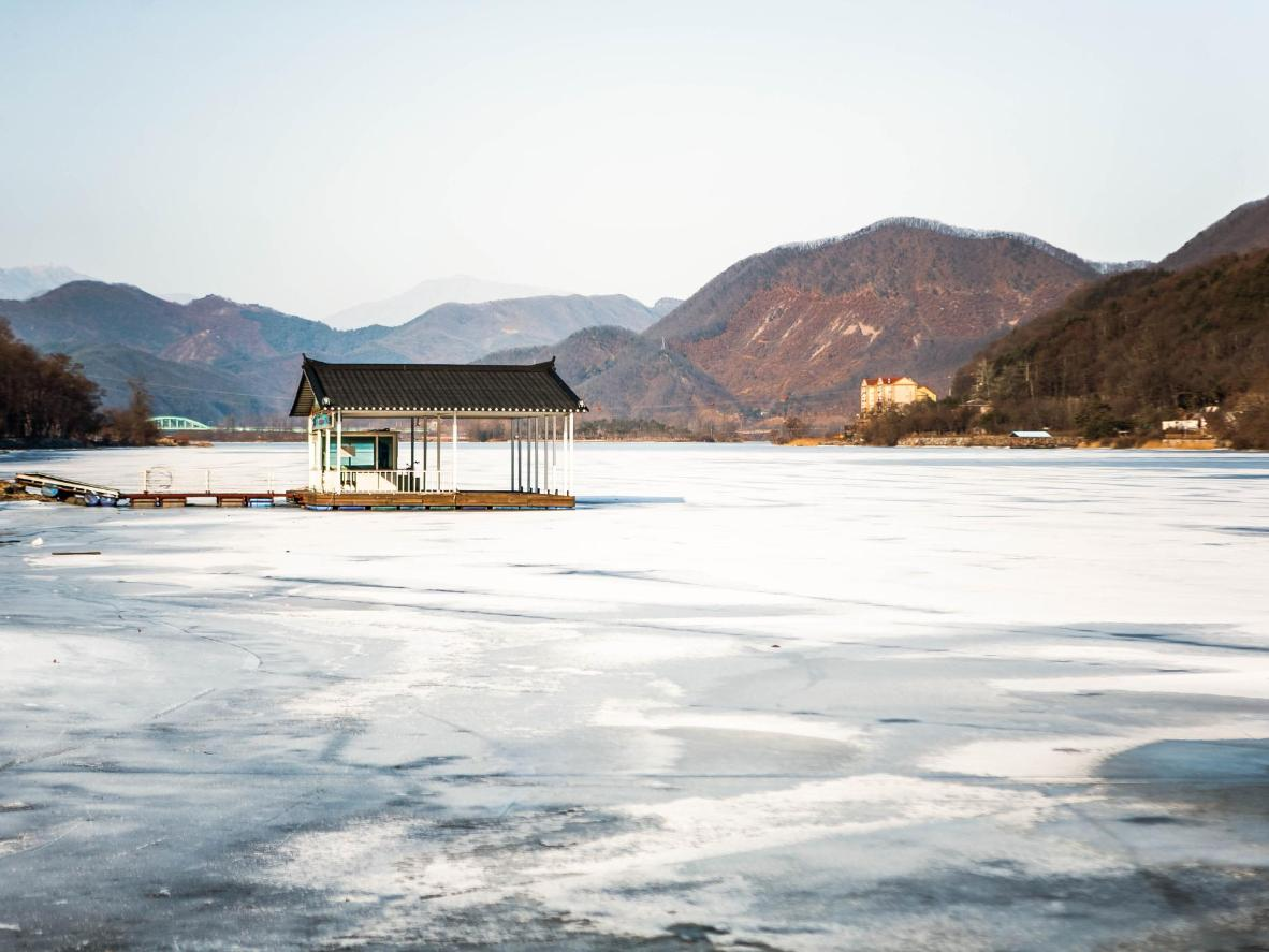 A frozen day at Namiseom