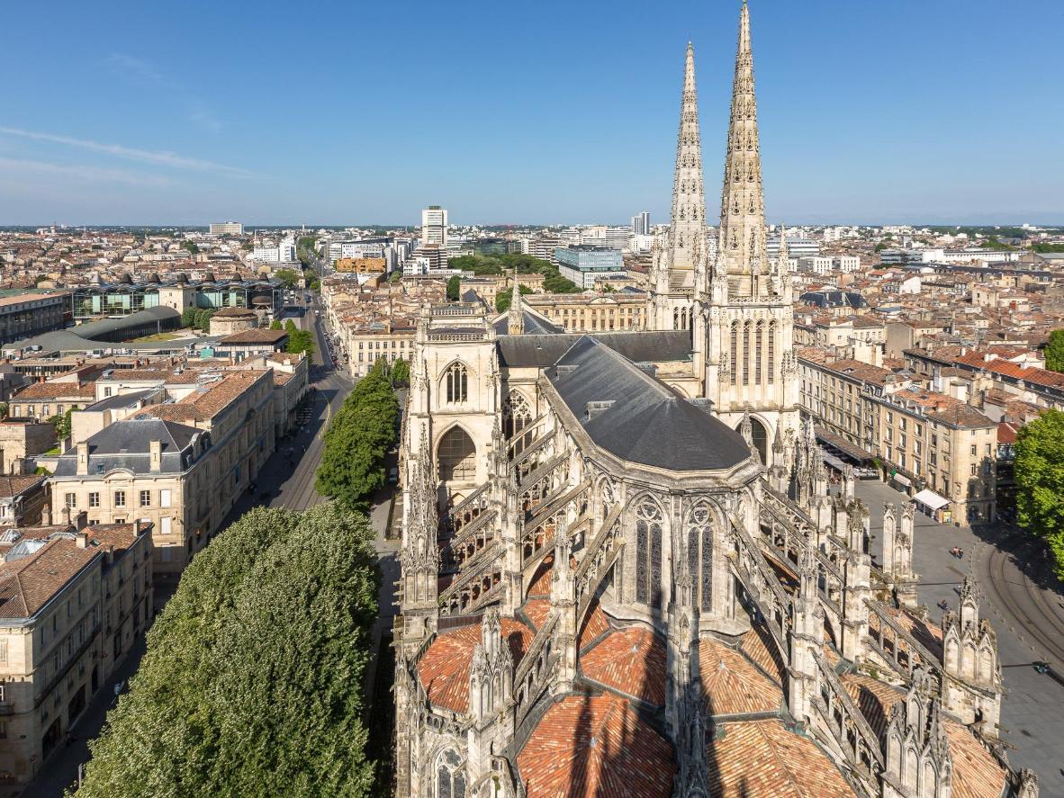 The Cathédrale Saint-André in Bordeaux