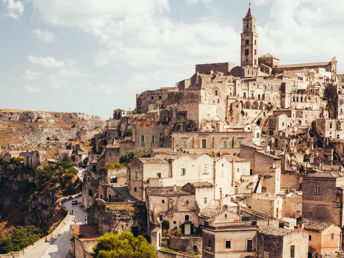 The Sassi district in Matera