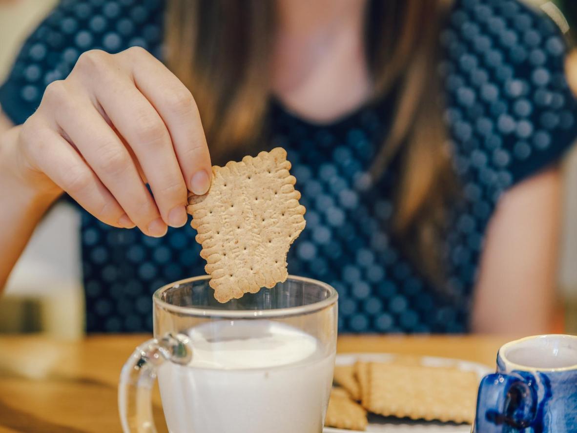 No hay nada como unas galletas petit beurre, ideales para mojar en leche
