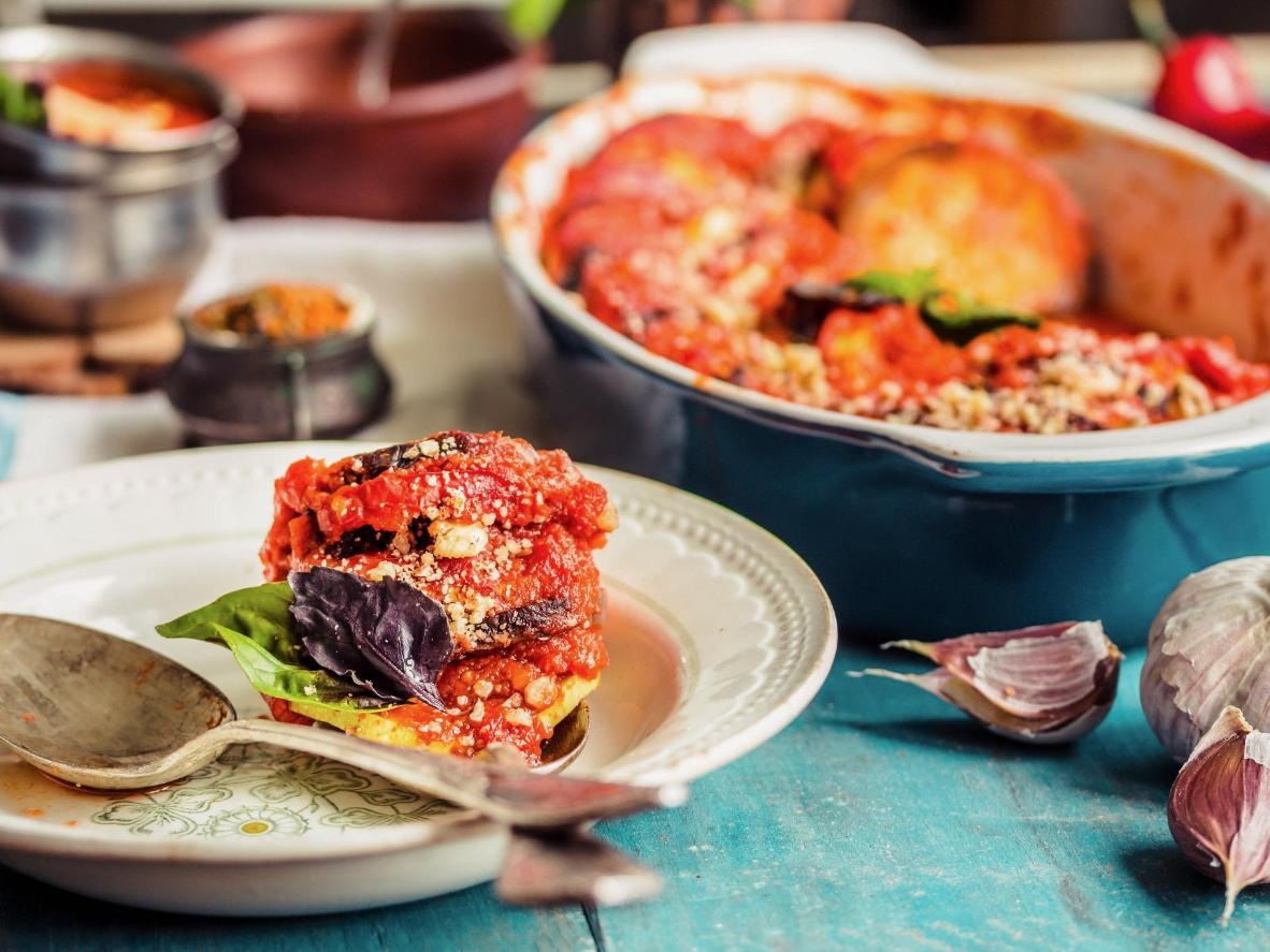Ratatouille is a medley of gorgeously-coloured vegetables