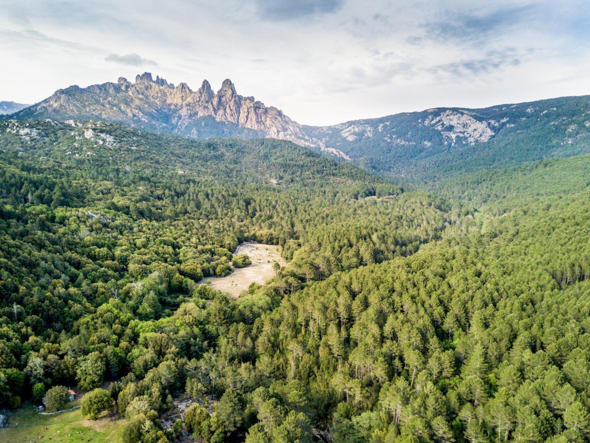 Col de Bavella, una zona conocida por sus ríos embravecidos, hermosas cascadas, piscinas de roca y bosques