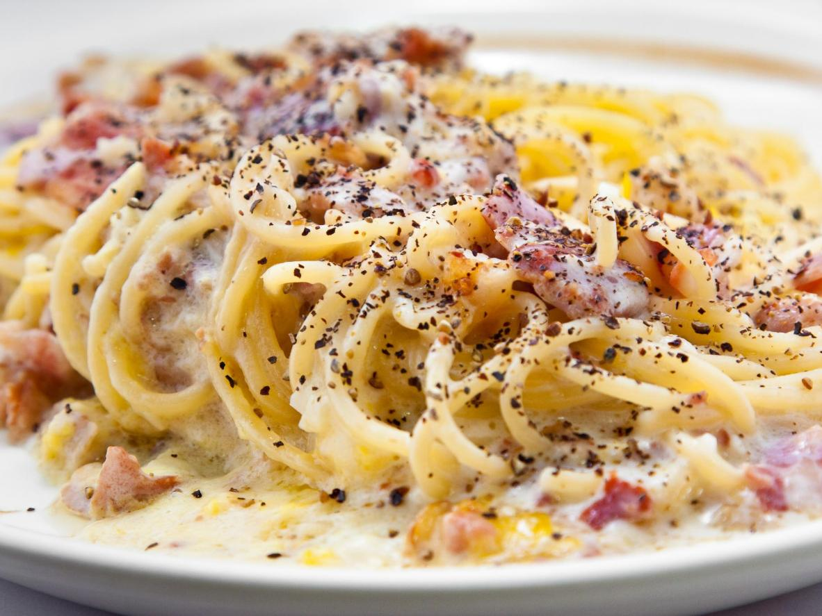 Carbonara is world-renowned, but head to Lazio for the traditional recipe