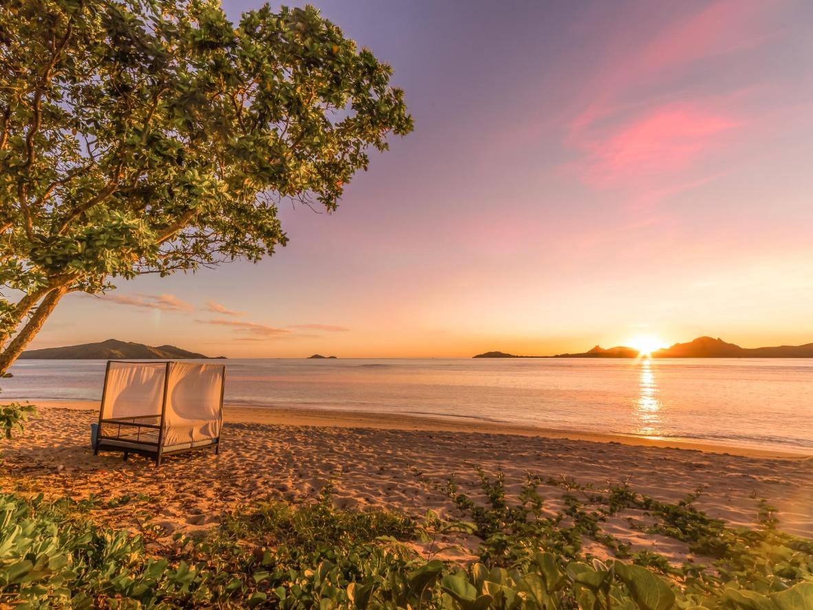 Tokoriki offers unbeatable sunsets – a perfect backdrop to say your vows to