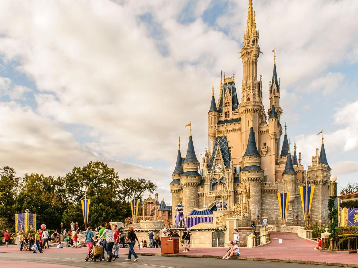 Settembre è il mese giusto per Disney World e il famoso Castello di Cenerentola