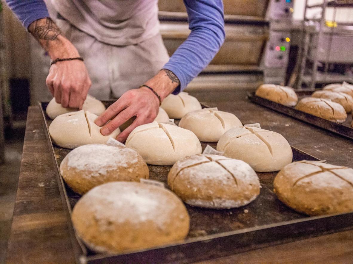 Try The Bakehouse's award-winning sourdough loaves