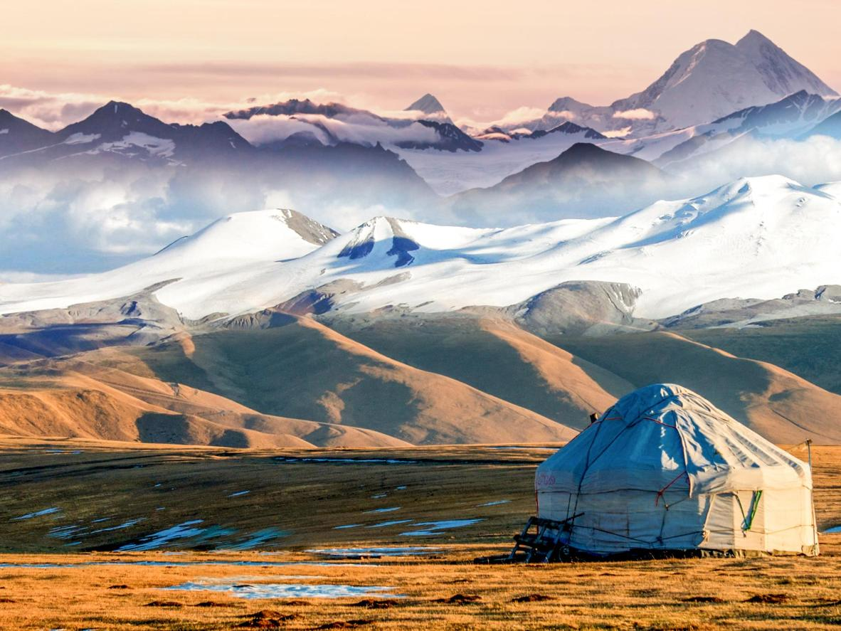 Discover Kyrgyzstan's traditional nomadic lifestyle