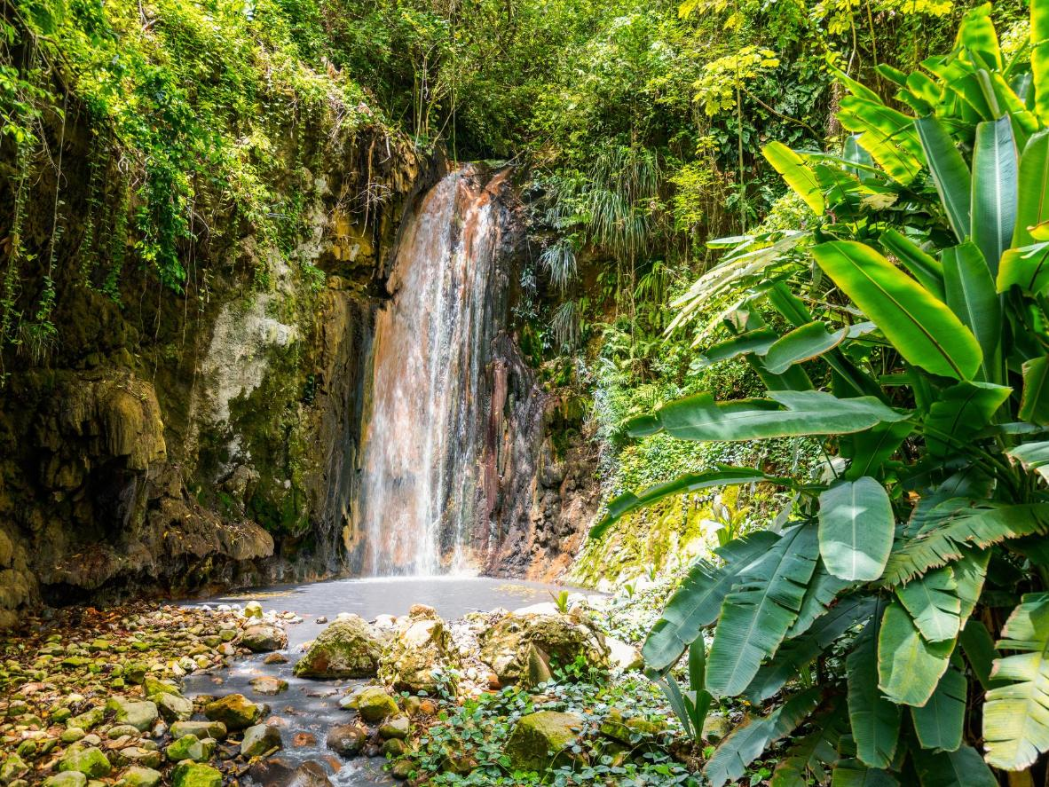 Take a dip in one of the many plunging waterfalls