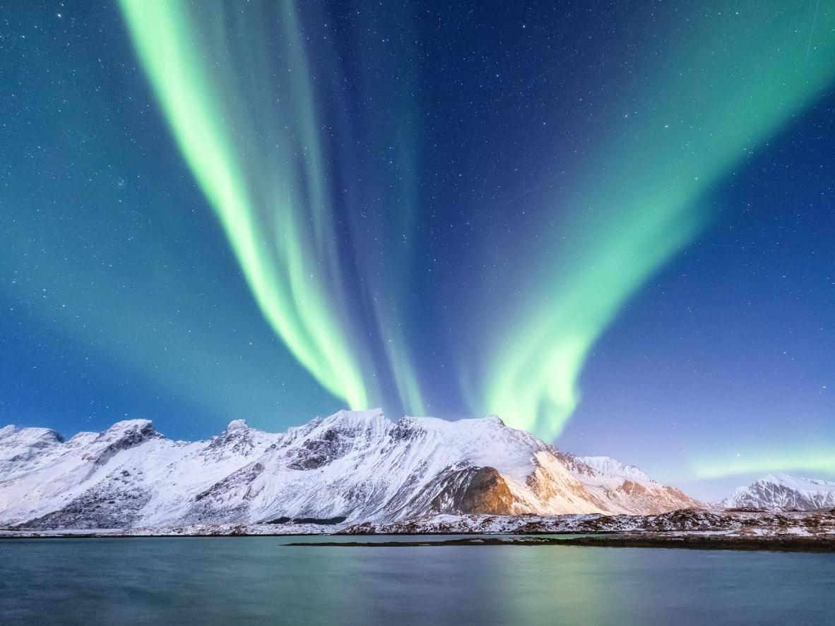 Tromsø to jedno z najlepszych miast do oglądania zorzy polarnej