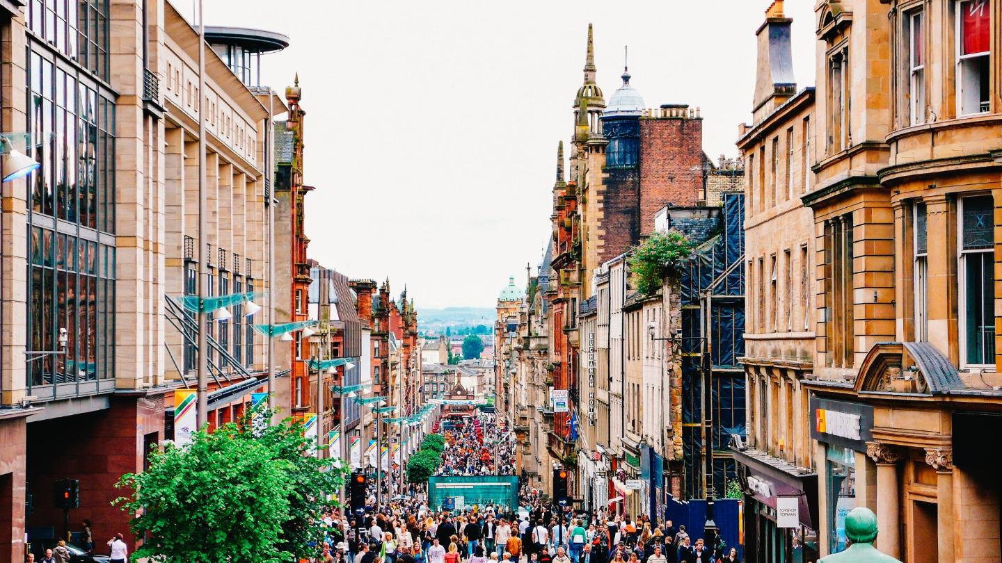 Glasgow: home to the biggest comedy festival in Europe