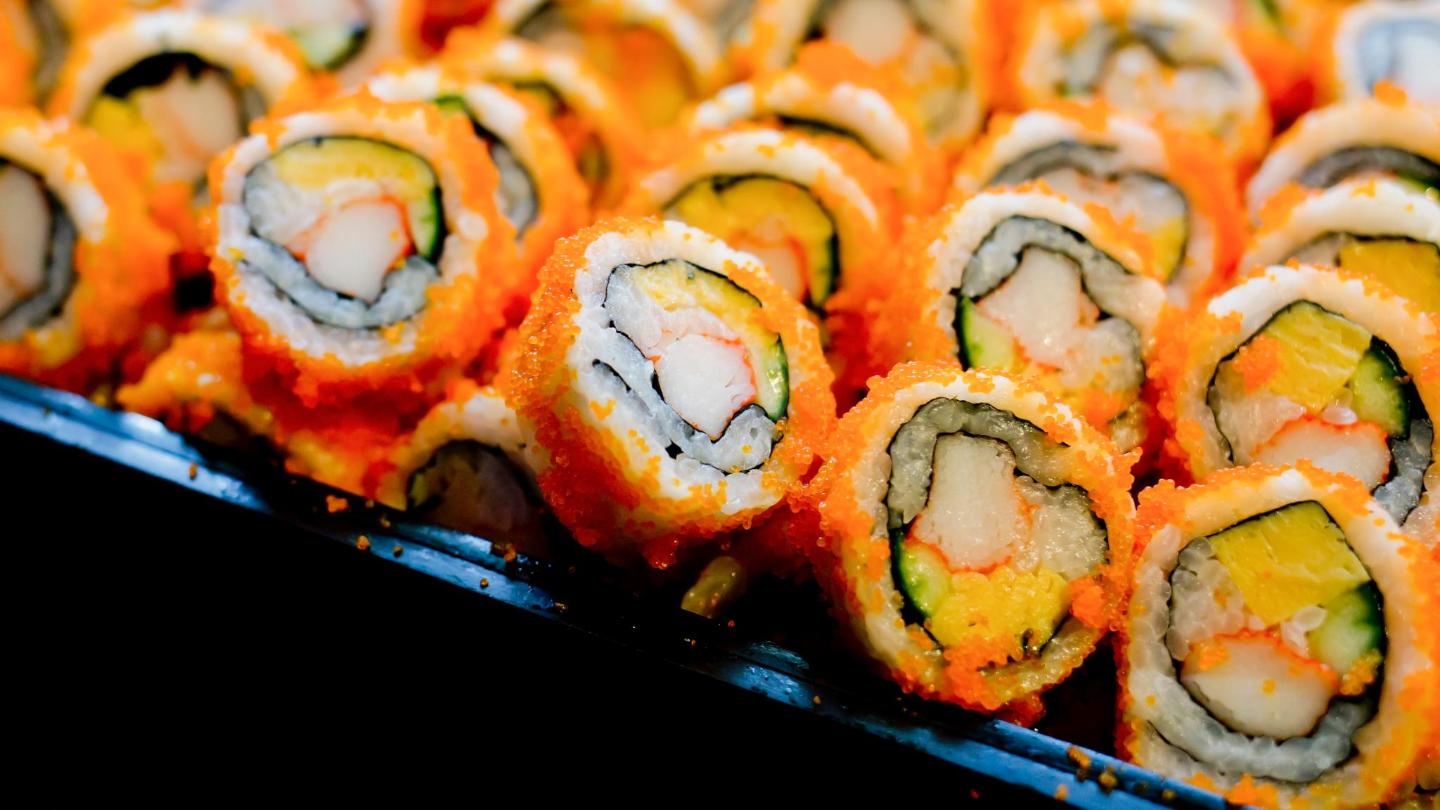 Get your California rolls to go for a fresh and healthy snack