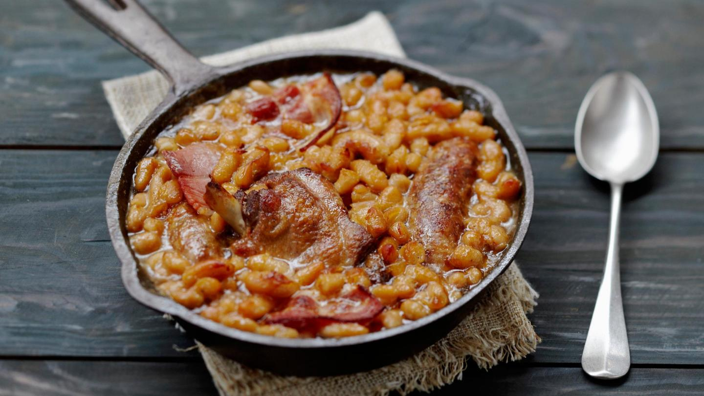 With sausages, duck and beans, cassoulet won't leave you hungry