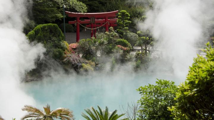 Encuentra el mejor lugar para las aguas termales en Beppu