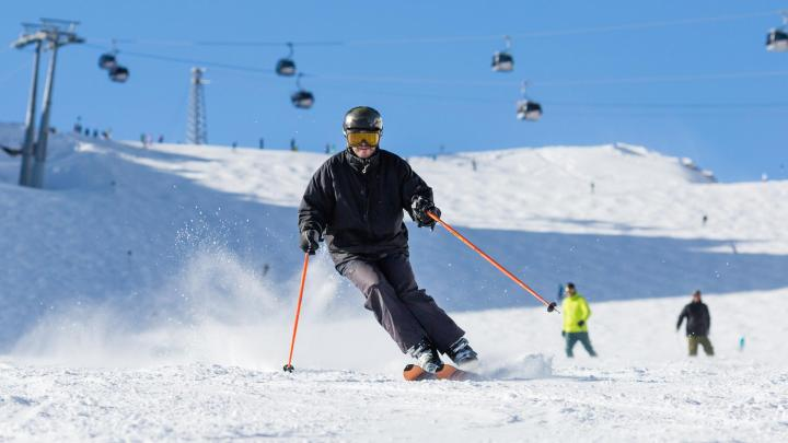 Nejlepší sjezdové lyžování v destinaci Sölden