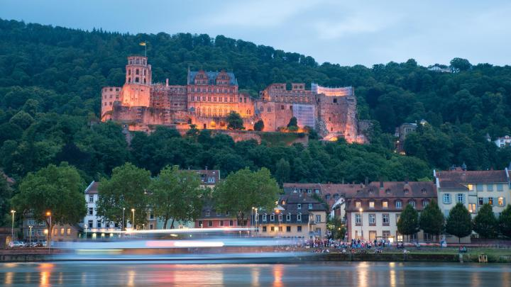 Encuentra el mejor lugar para los castillos en Heidelberg