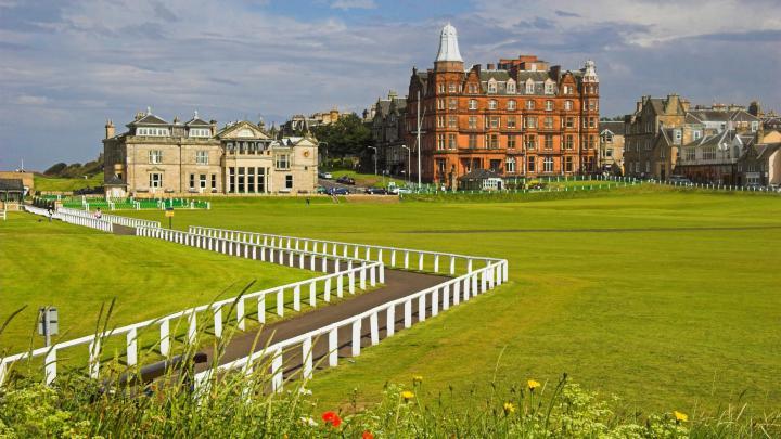 Encuentra el mejor lugar para el golf en St Andrews