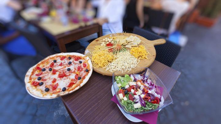 Encuentra el mejor lugar para la pizza en Roma