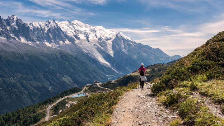 Encuentra el mejor lugar para pasear por la montaña en Chamonix Mont Blanc