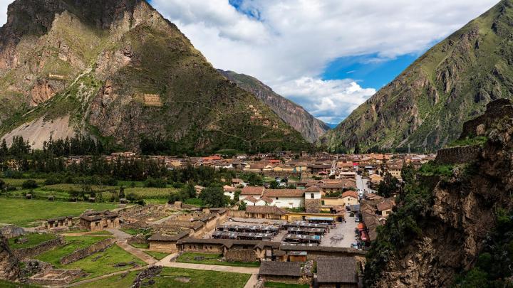 Encuentra el mejor lugar para las ruinas incas en Ollantaytambo