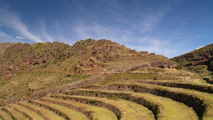 Encuentra el mejor lugar para las ruinas incas en Písac