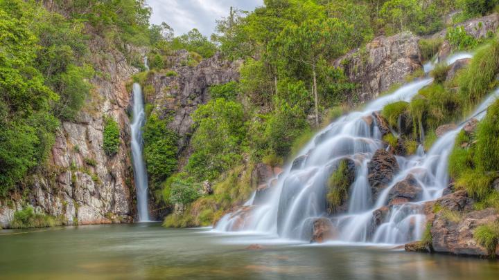 Encuentra el mejor lugar para las cascadas en Pirenópolis