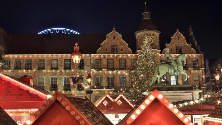 Encuentra el mejor lugar para los mercadillos navideños en Dusseldorf