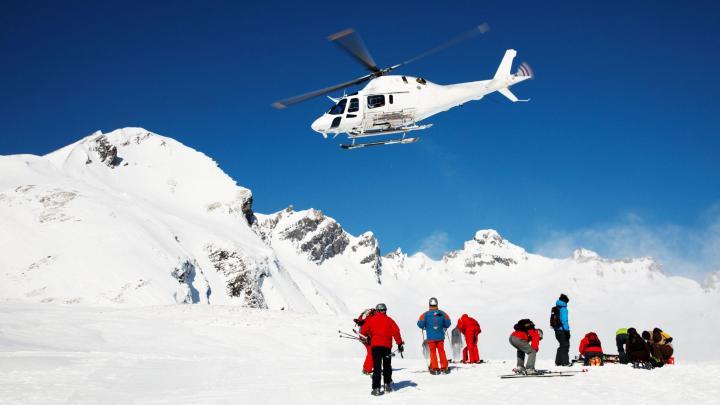 Encuentra el mejor lugar para el heliesquí en Breuil-Cervinia