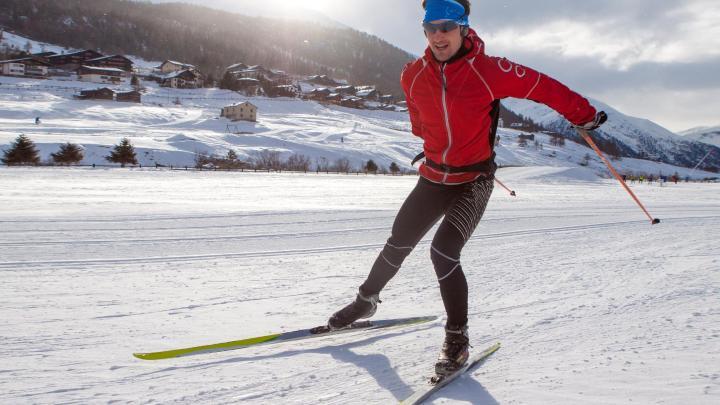 Encuentra el mejor lugar para el esquí de fondo en Äkäslompolo