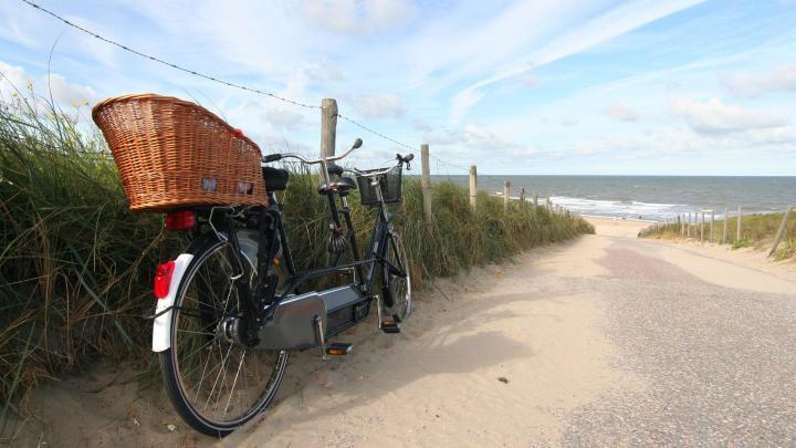Encuentra el mejor lugar para el ciclismo en Oost-Vlieland