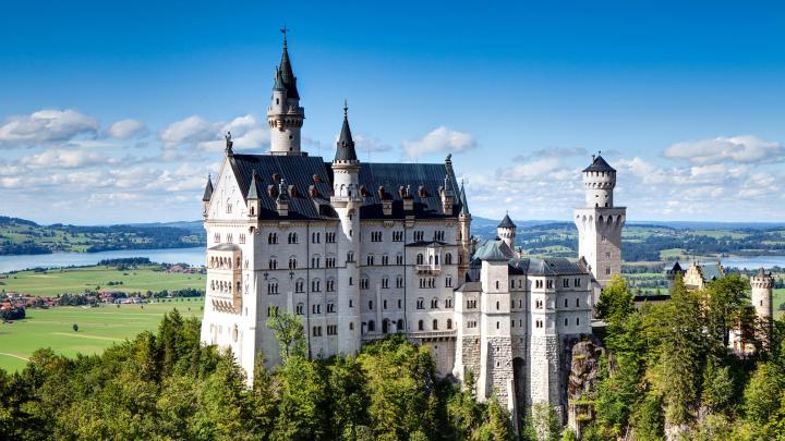 Encuentra el mejor lugar para los castillos en Schwangau