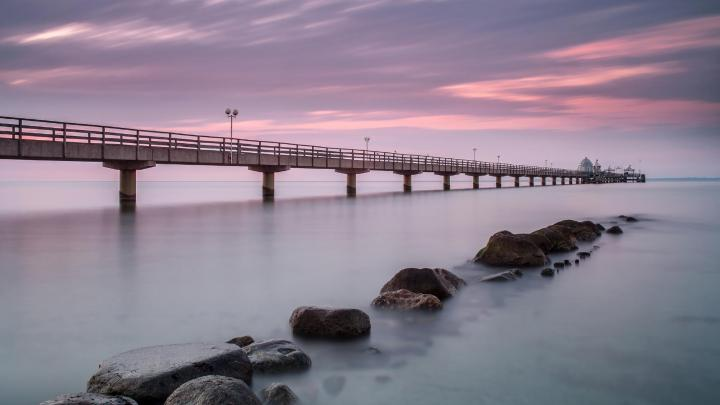 Encuentra el mejor lugar para los paseos marítimos en Grömitz
