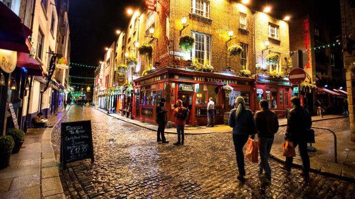 Encuentra el mejor lugar para el ocio nocturno en Dublín